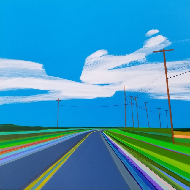 Grant Haffner, 'Napeague Meadow Road (Two Views)', 2015, Roman Fine Art To give examples of the artists work