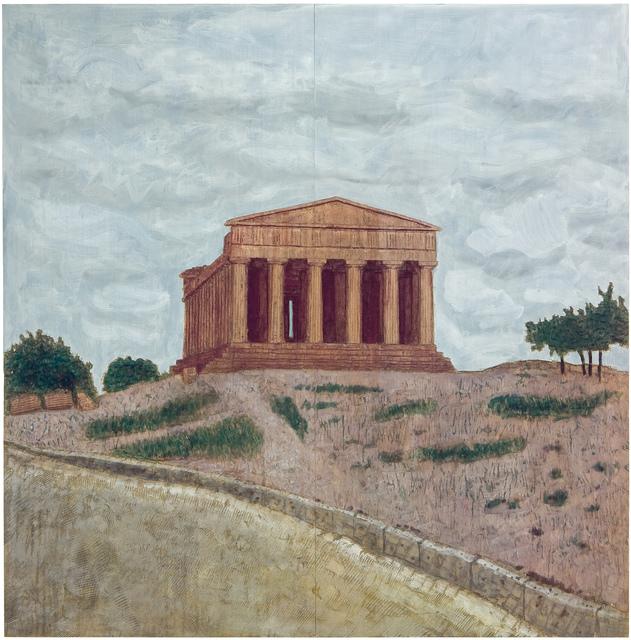 Stephan Balkenhol, 'Tempel (Relief)', 2004, Gary Tatintsian Gallery