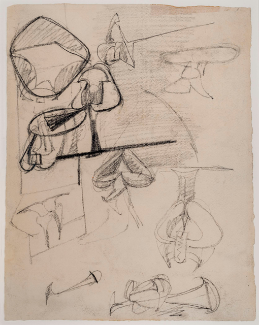 , 'Untitled,' ca. 1943-1946, Allan Stone Projects