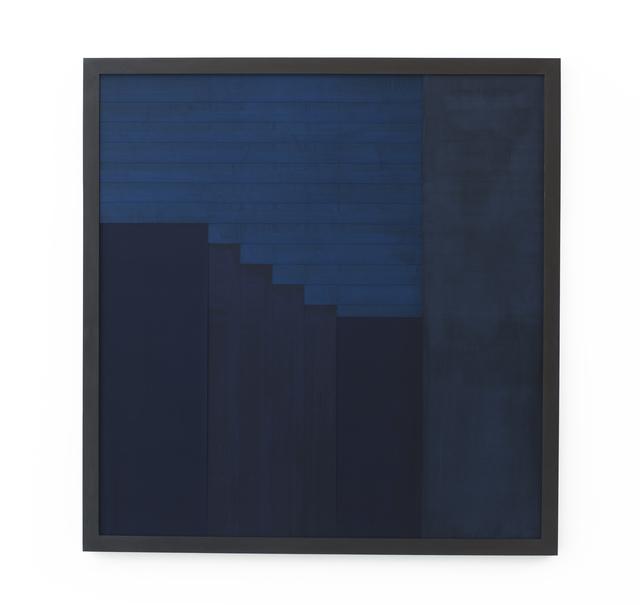 , 'Sintropic Maze - series I (Corner 4) - Blue,' 2016, Zipper Galeria