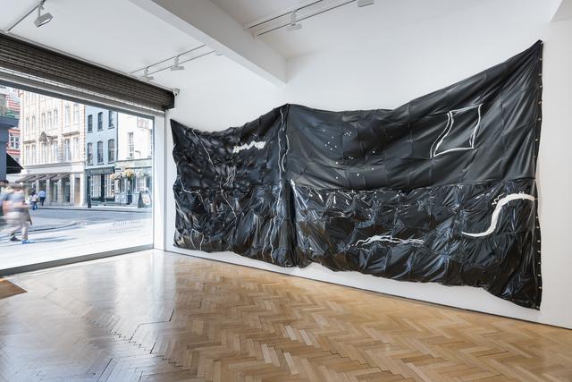 Isabel Yellin, 'Hug Me, Hold Me, Don't Let Go', 2015, Sculpture, Leatherette, Rigilene, Acrylic, Vigo Gallery
