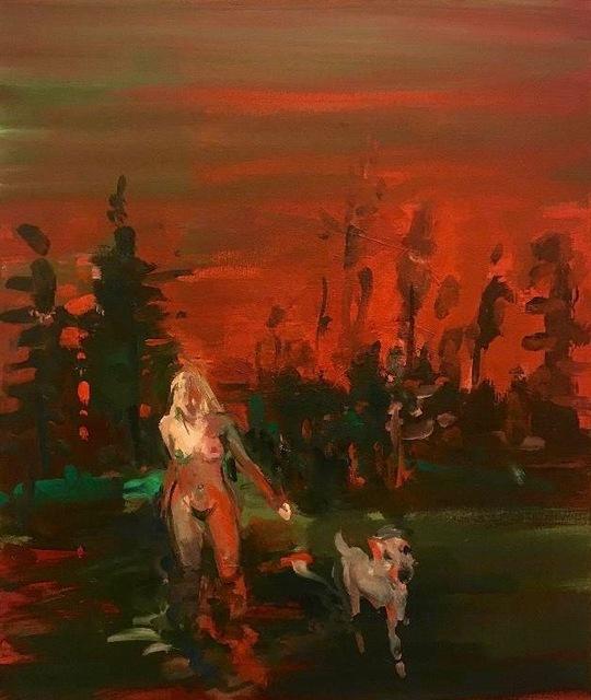 , 'Red Sky,' 2019, Malin Gallery