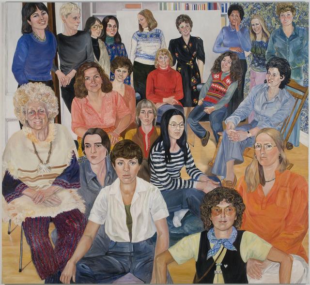Sylvia Sleigh, 'AIR Group Portrait', 1977, Freymond-Guth Fine Arts Ltd.