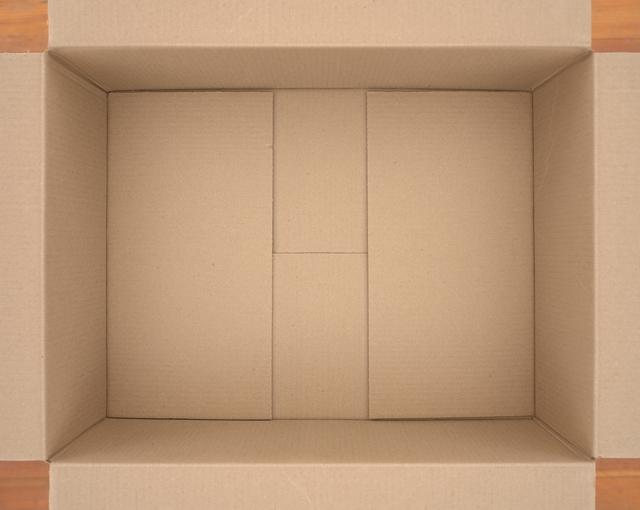 , 'Untitled (cardboard box),' 2018, Elizabeth Leach Gallery