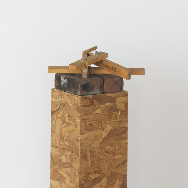 , 'Dividing Wood,' 1988, Magenta Plains