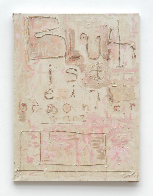 , 'Blut ist blaeh blaeh,' 2012, Anthony Reynolds Gallery