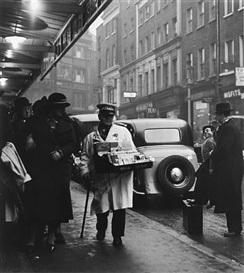 , 'London, Theatre Queue,' 1934, Peter Fetterman Gallery