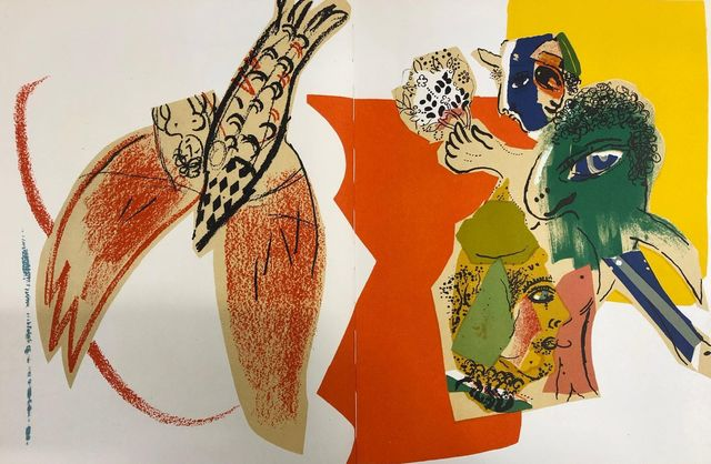 Marc Chagall, ' XXe siècle 26', 1966, Print, Lithograph on paper, Samhart Gallery