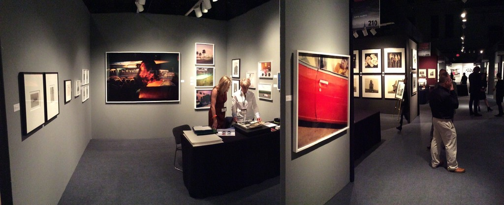Simone Kappeler and Elene Usdin on our Booth #210 at Aipad NY