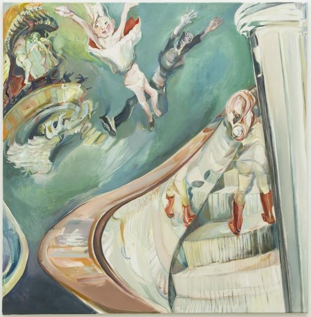 , 'Rolltreppe III,' 2012, Galerie Elisabeth & Klaus Thoman