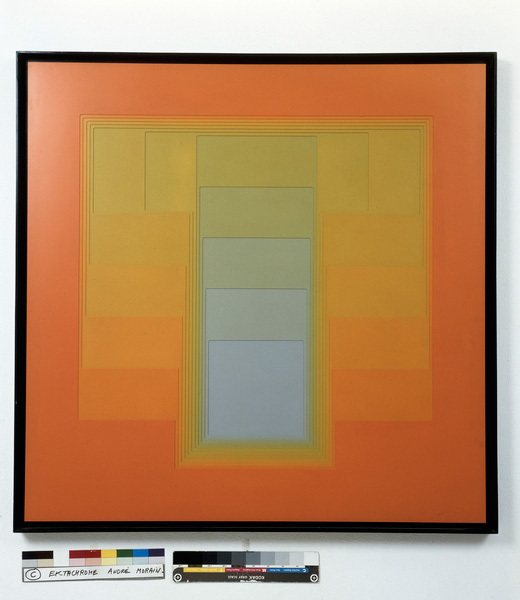 , 'Color sound n°20 extra version,' 1974, Galerie Denise René