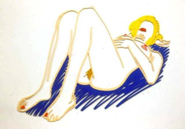 , 'Blonde On Blanket,' , Vertu Fine Art