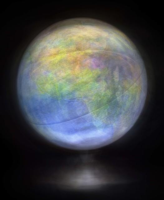 Matthew Pillsbury, 'Spinning Globe #1', 2015, Edwynn Houk Gallery