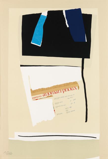 , 'America--La France Variations VI AP,' 1984, Zane Bennett Contemporary Art