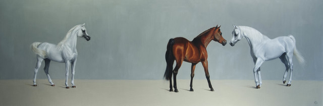 , '6. Arabian Mare and Stallions,' 2016, Sladmore Contemporary