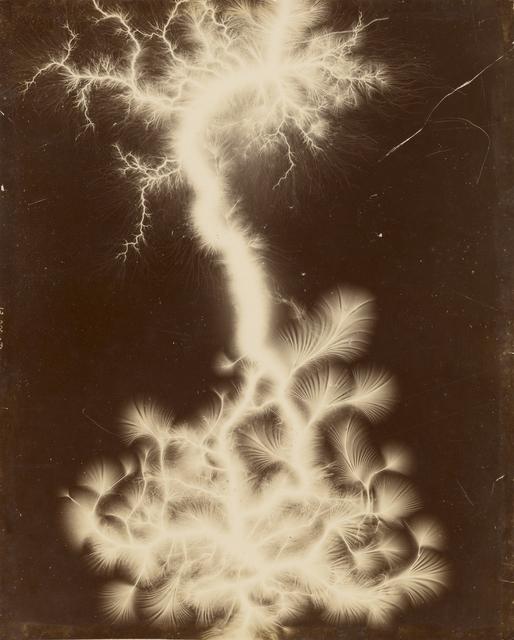 , 'Miniature Lightning Show,' 1895, J. Paul Getty Museum