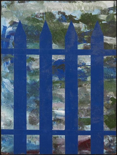 , 'Untitled (Blue picket fence) ,' 1965, Galleri Bo Bjerggaard