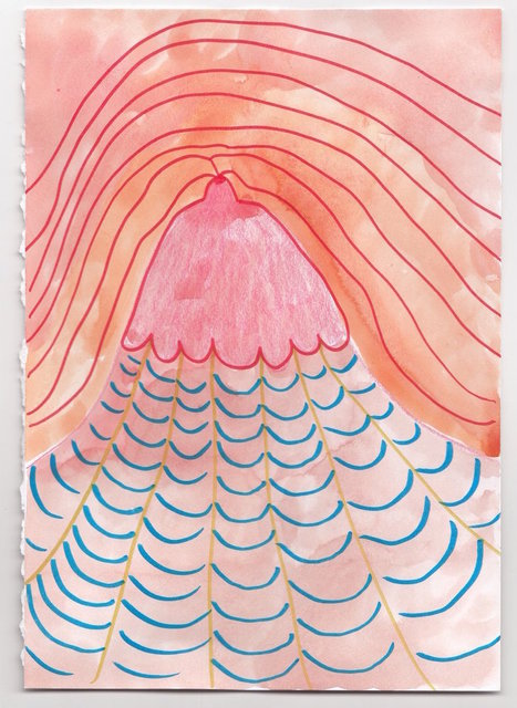 , 'Volcano,' 2017, Deli Gallery