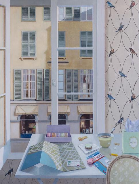 Barbara Kassel, 'Afternoon Tea, Rue Jacob', 2019, Clark Gallery