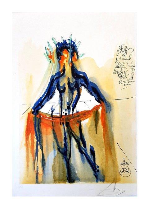 "Salvador Dalí, 'Etching ""Art Of Love - Venus"" by Salvador Dali', 1979, Galerie Philia"