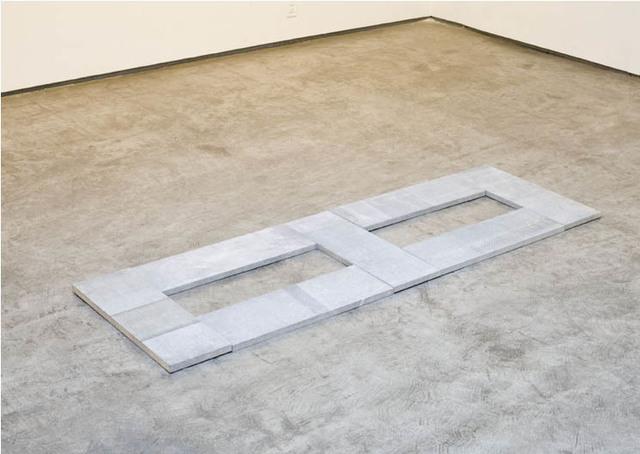 Carl Andre, 'Limestone Dicel', 2009, Galleria Fumagalli