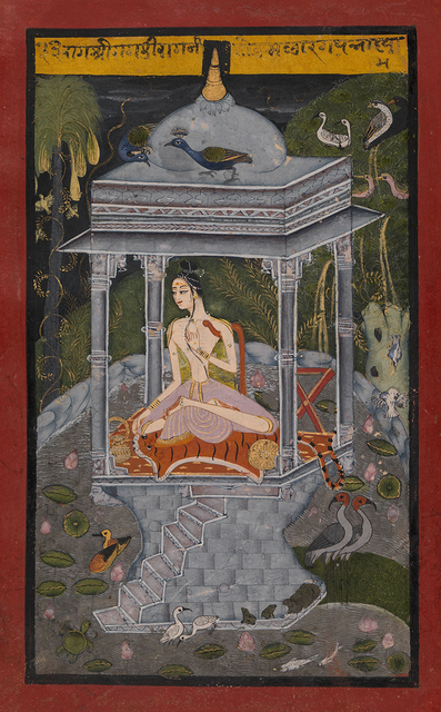 , 'Gaud Malhar Ragini,' ca. 1660, Prahlad Bubbar
