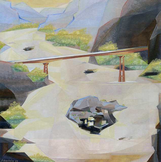 , 'The Bridge,' 2004, Aicon Gallery