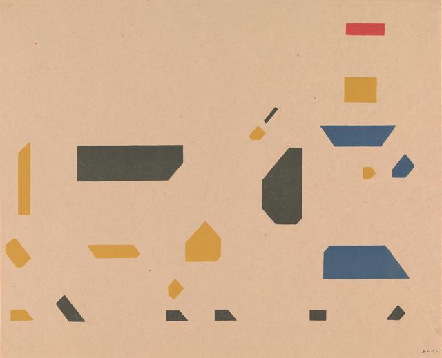 , 'Composition meisje met koe,' ca. 1921, Rijksmuseum