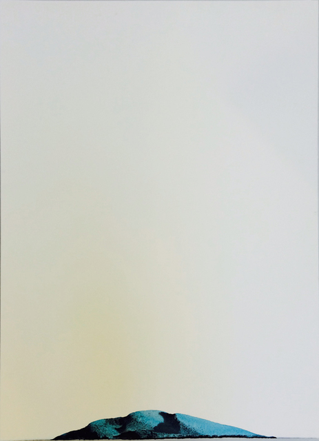""", 'De la serie """"Dibujos de agua"""" Mitikile, Provincia de Buenos Aires,' 2015, Galería Sextante"""