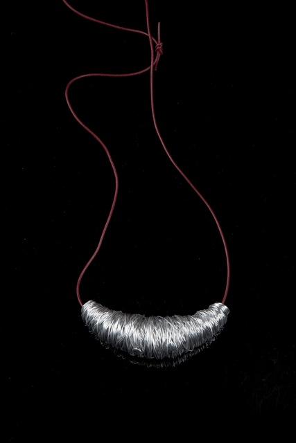 """, '""""Casullo"""" coiled aluminium pendant,' 2004, Didier Ltd."""