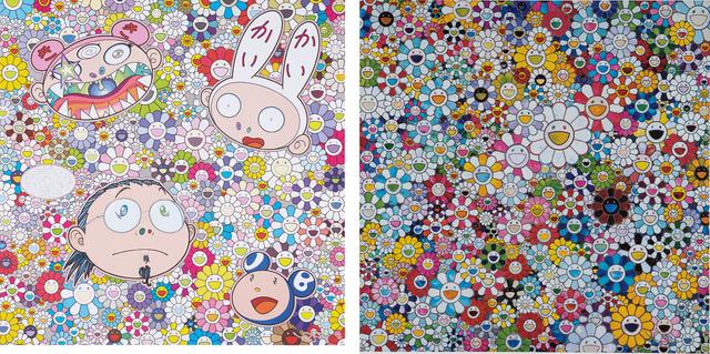 Takashi Murakami, 'When I Close My Eyes I See Shangri-la; and The Creative Mind', 2012-2015, Phillips
