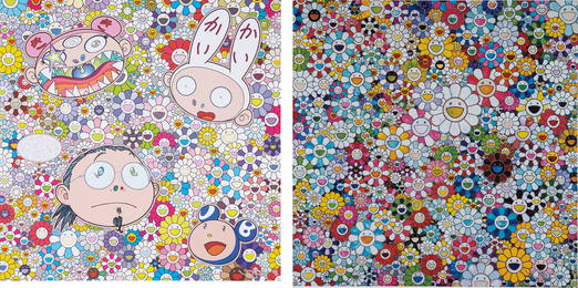 Takashi Murakami, 'When I Close My Eyes I See Shangri-la; and The Creative Mind,' 2012-2015, Phillips: Evening and Day Editions (October 2016)