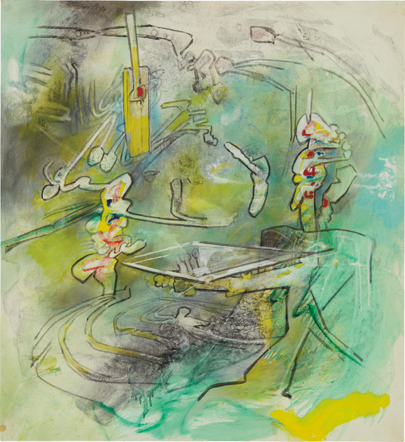 Roberto Matta, 'Creative Net-work', 1984, Phillips