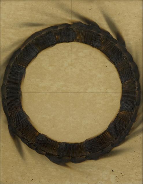 , 'Dessin de feu circulaire,' 1973, ABC-ARTE