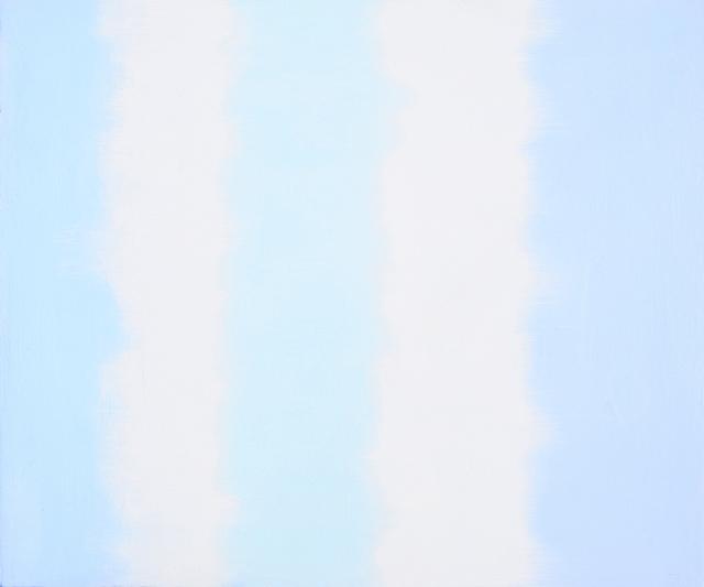 , 'Sea Blues Study,' 2018, Charles Nodrum Gallery