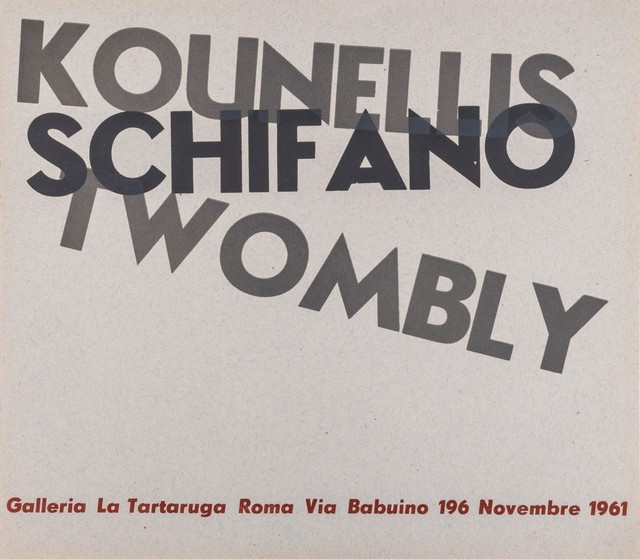 Various Artists, 'Group exhibition', 1961, Finarte