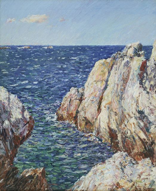 , 'Rocks, Isle of Shoals,' 1899-1901, Bernard Goldberg Fine Art