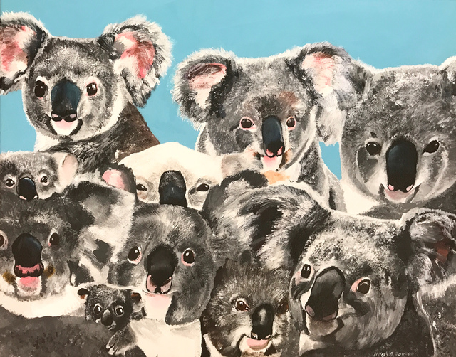 Myasia Dowdell, 'Crowd of Koalas', 2017, Land Gallery/NAP Projects