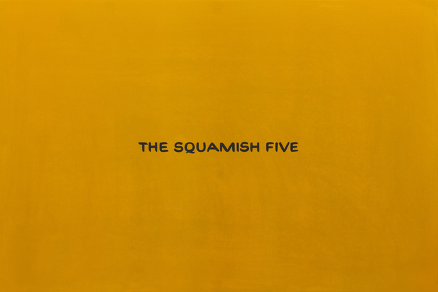 , 'The Squamish Five (from the series Divine Violence),' 2007, Roberts & Tilton