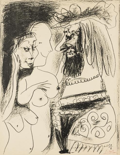 Pablo Picasso, 'Le Vieux Roi (Bloch 869; Mourlot 317)', 1959, Forum Auctions