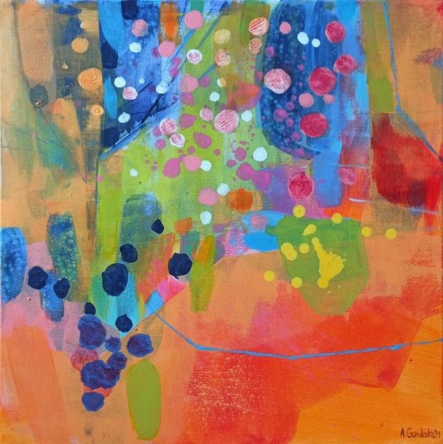 Anna Masiul-Gozdecka, 'Magical orchid', 2021, Painting, Acrylic on canvas, Gallery Katarzyna Napiorkowska | Warsaw & Brussels