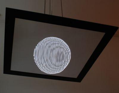 , 'Bauhaus (Hanging mirror lamp),' 2007, Galleria Rossella Colombari