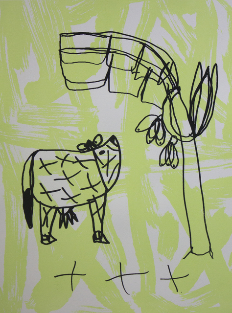 , 'Cow & Tree (edition of 4),' 2016, Studio A