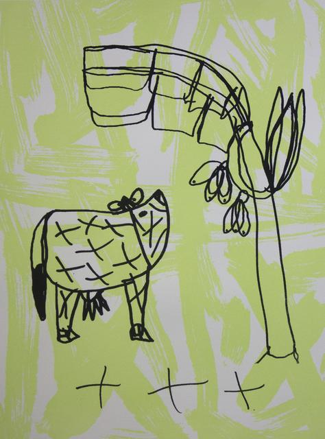 Arunan Dharmalingam, 'Cow & Tree (edition of 4)', 2016, Studio A