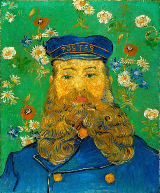 Vincent van Gogh, 'The Postman Joseph Roulin,' 1888, Art History 101