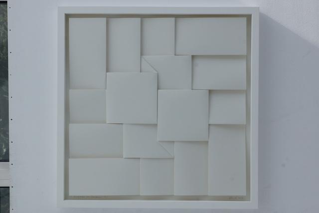 , '4 Quadrate im Zentrum ,' 2016, Galería Marita Segovia