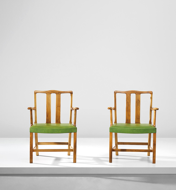 Ole Wanscher, 'Pair of armchairs, model no 1764', Phillips