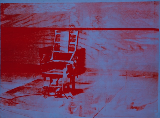 Andy Warhol, 'Big Electric Chair', 1967, Painting, Acrylic paint and silkscreen ink on canvas, Musée d'Art Moderne de la Ville de Paris