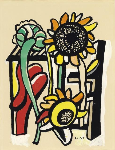 , 'Les trois soleils,' 1953, Opera Gallery