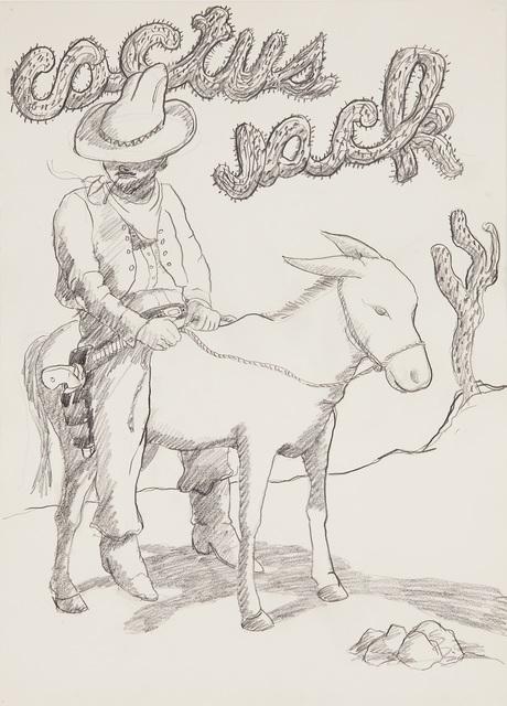 Robert Colescott, 'Cactus Jack', 1976, Aspen Art Museum Benefit Auction